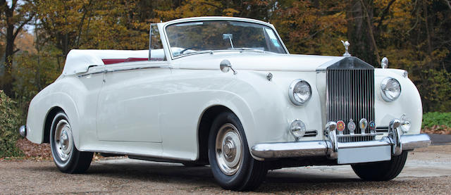 1960 Rolls-Royce Silver Cloud II Drophead Coupé Adaptation  Chassis no. STB190