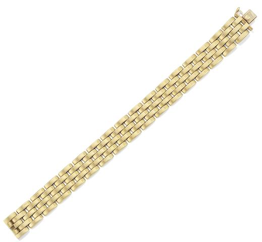 A 'Maillon Panthère' bracelet, by Cartier
