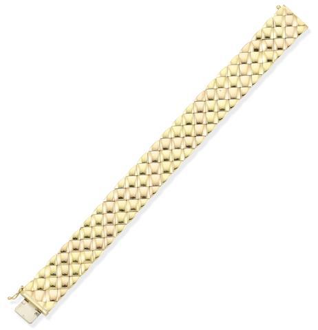 A fancy-link bracelet, by Asprey