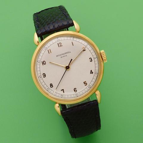 Patek Philippe. An 18K gold manual wind wristwatch Circa 1940
