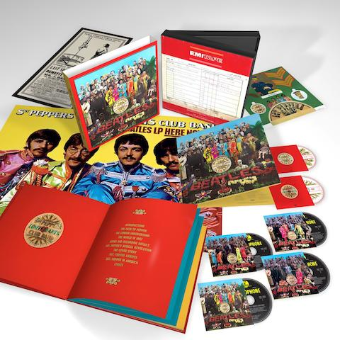 The Beatles: Sergeant Pepper's Lonely Hearts Club Band, 6 Disc Super Deluxe (Anniversary Edition) box set, donated and dedicated by Sir Paul McCartney, 2017,