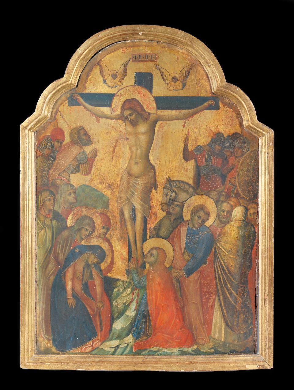 Lorenzo Veneziano (active Venice, 1356-1379) The Crucifixion