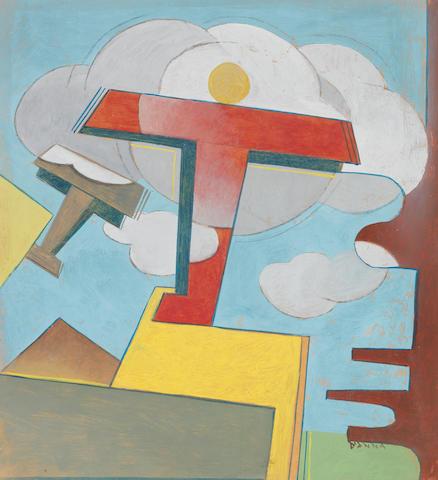 Giulio D'Anna (1908-1978) Ascensione aerea (Executed circa 1930 - 1931)