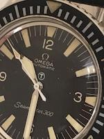 Omega. A rare stainless steel military issue automatic wristwatch  Seamaster 300, Ref: 165.024, Circa 1967