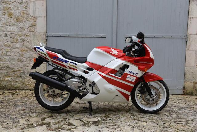 Property of a deceased's estate, 1991 Honda CBR600F Super Sport Frame no. PC25-2003439 Engine no. PC25E-2007067