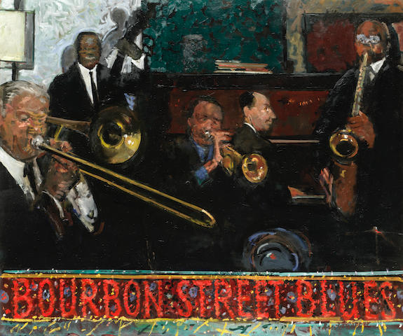 Ruskin Spear R.A. (British, 1911-1990) Bourbon Street Blues