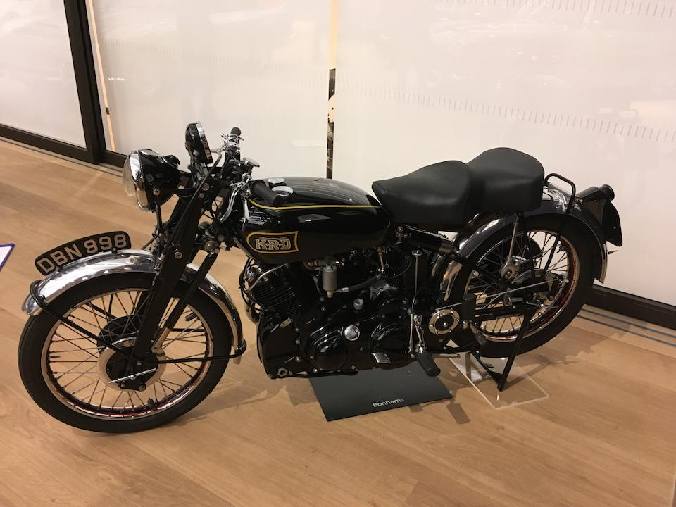 1949 Vincent 998cc Black Shadow Series C