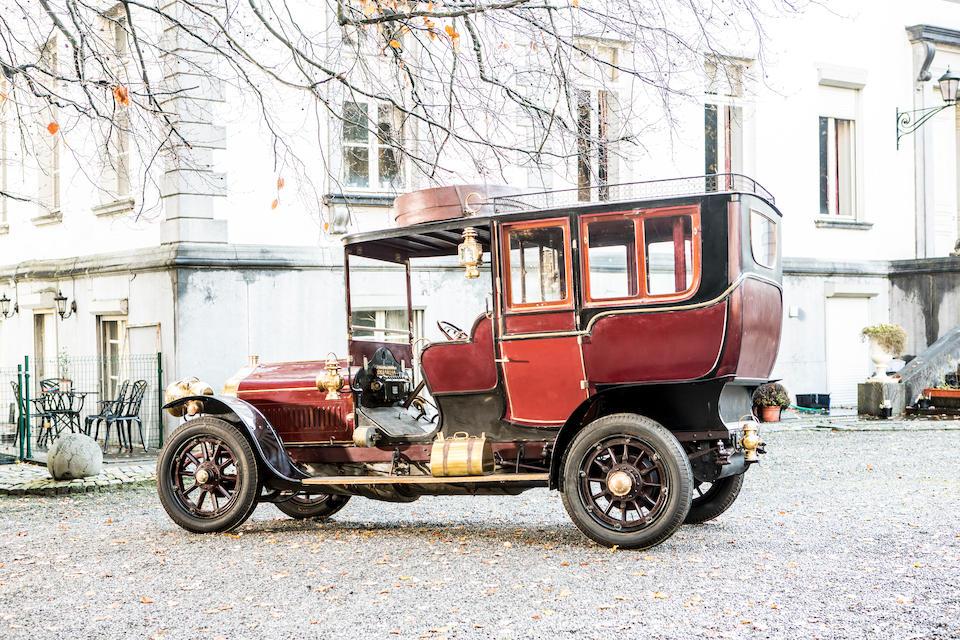 Minerva Type K 40 HP limousine/torpédo transformable 1907
