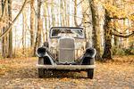 1934 Sunbeam 25hp Saloon  Chassis no. 3123.S