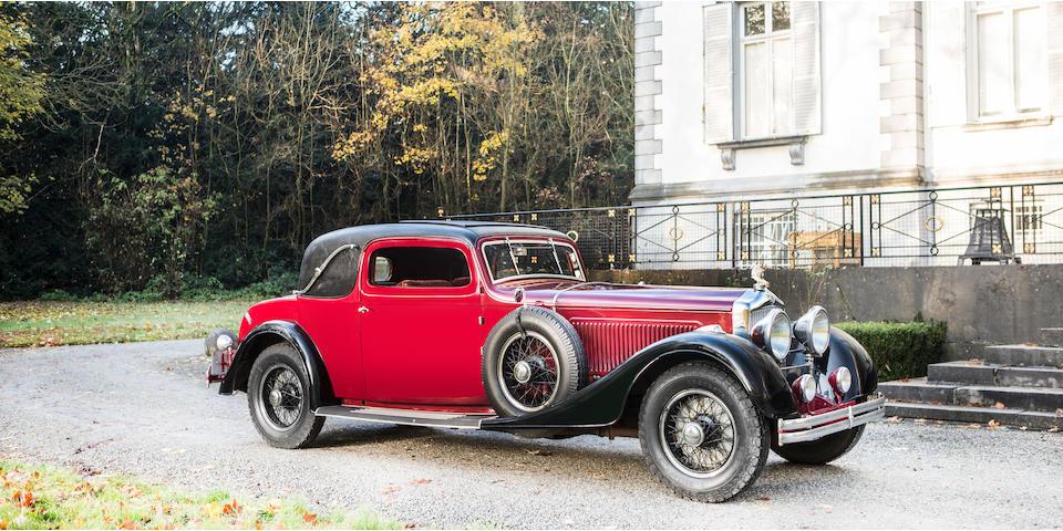 Minerva Type AL 40 CV coupé sport 1934