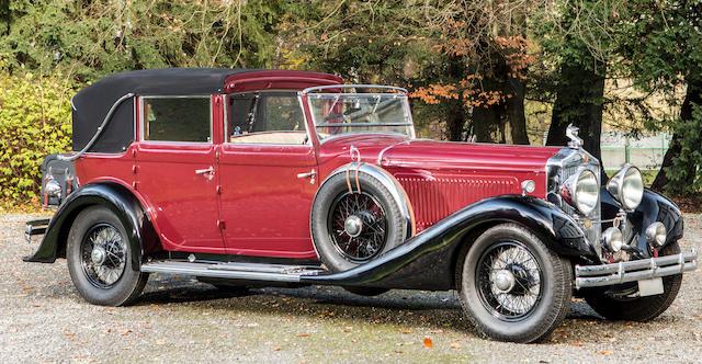 Minerva Type AL 40 CV Imperial cabriolet 1934