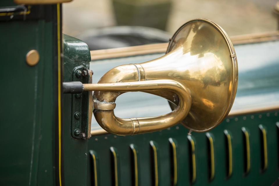 Autrefois propriété du collectionneur bien connu Eugène Segers,De Dion-Bouton Type AX 15 HP double berline 1908