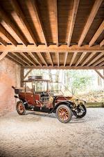 Minerva modèle S 26 HP landaulette découverte 1910
