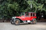 Minerva modèle Z 38 HP limousine ouverte 1911