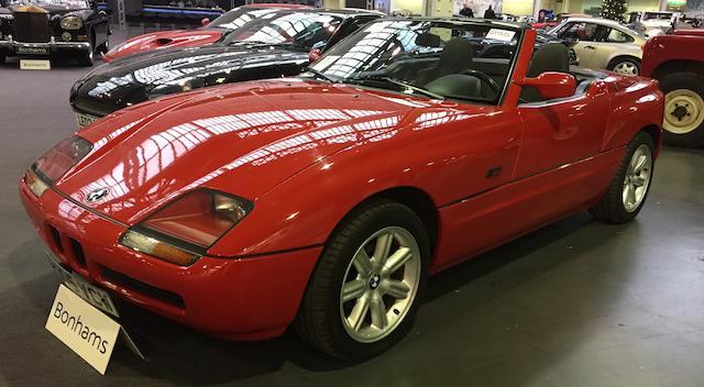 1990 BMW Z1 Convertible  Chassis no. WBABA9170AL03633