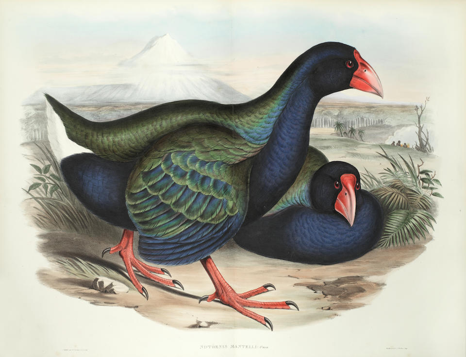 GOULD (JOHN) The Birds of Australia, 7 vol. plus 3 parts of Supplement only (of 5), FIRST EDITION, Taylor and Francis for the Author, [1840]-1848-[1851]-1869