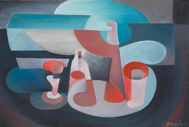 Enzo Benedetto (1905-1991) Natura morta (Painted circa 1926 - 1927)