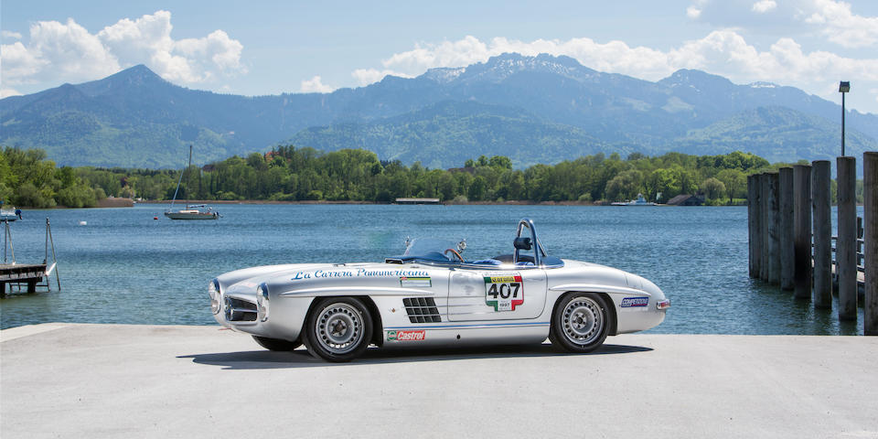 Mercedes-Benz  300 SL roadster aux spécifications d'une SLS compétition en aluminium 1957