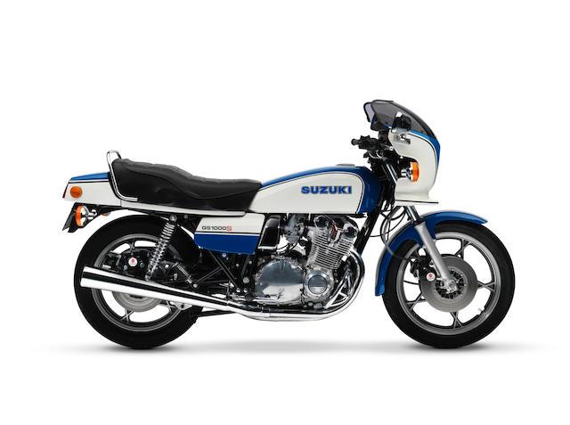 1979 Suzuki GS1000 Frame no. GS1000 527900 Engine no. GS1000-145043