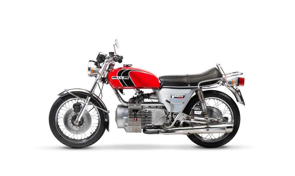 1978 DKW W2000 Rotary Frame no. 480000472 Engine no. 7585977