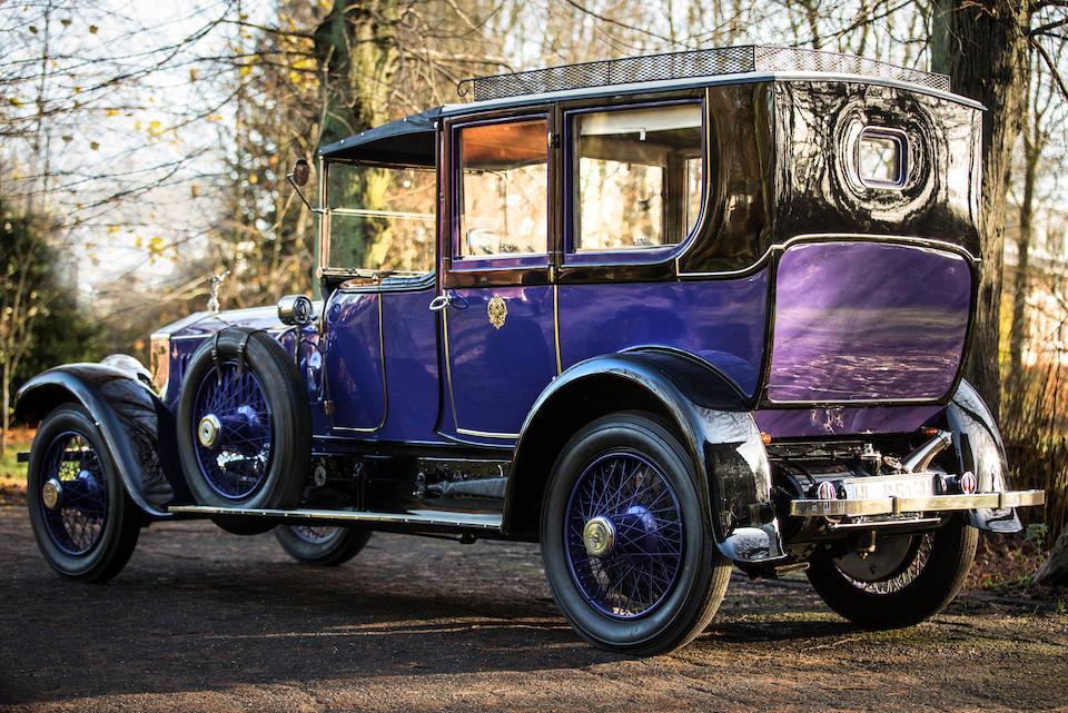 Rolls-Royce 40/50 HP Silver Ghost « Londres-Édinbourg » limousine 1915