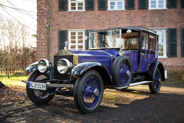 Delivered new to Russia,1914 Rolls-Royce Silver Ghost  Chassis no. 9AD