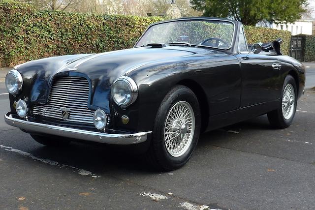 1954 Aston Martin DB2/4 MKI Drophead Coupé   Chassis no. LML/710