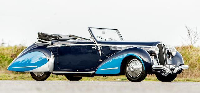 Delahaye 148 cabriolet 1948