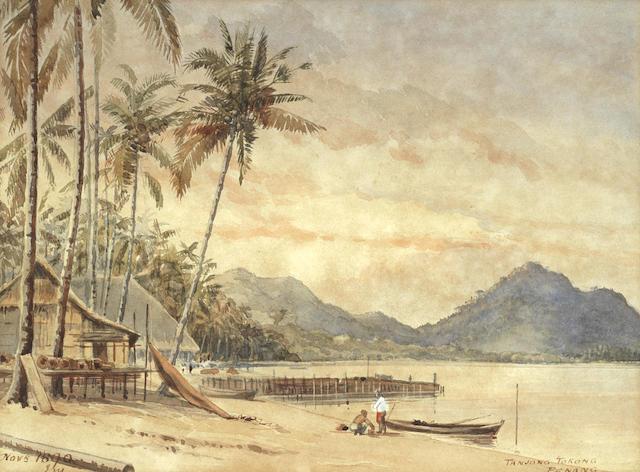 English School, 19th Century 'Tanjong Tokong, Penang'