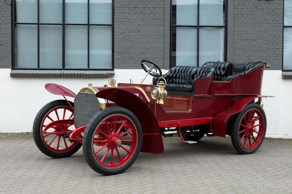 Fiat  Type 24/32 tonneau avec entrée par l'arrière 1904