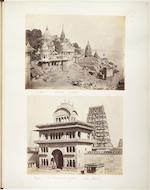 [POPE (ARTHUR FREDERICK)] Album containing 108 photographs of California, Singapore, Istanbul, Sri Lanka, China, India, and elsewhere, 1867-1870