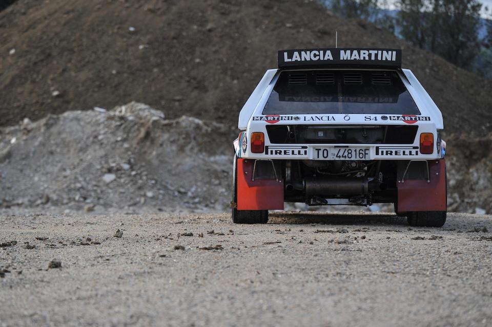 Lancia Delta S4 Groupe B Rallye 1986