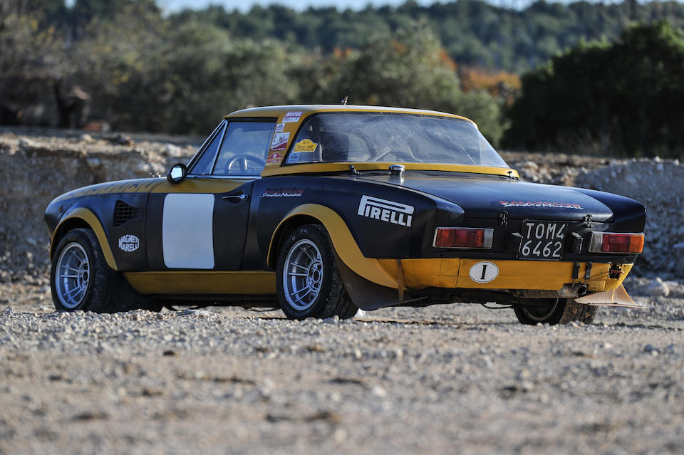 Ex-usine, rare version 16 soupapes injection,FIAT 124 Abarth Rallye Groupe 4 ex-usine 1975