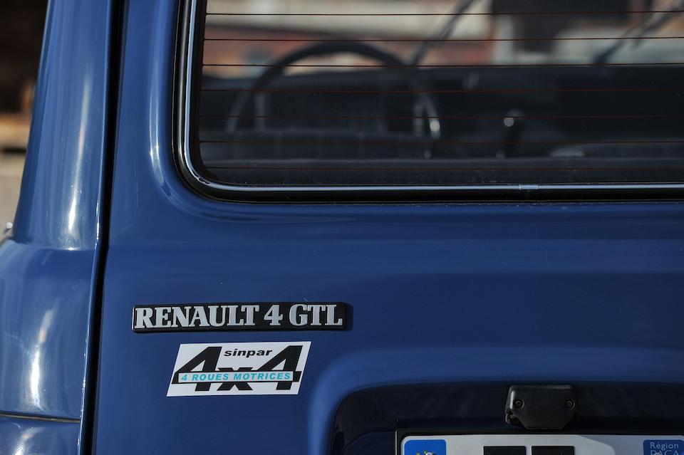 Renault Sinpar 4L Gendarmerie 4x4 1986
