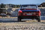 FIAT  124 Abarth Rallye Spider avec hard-top 1973
