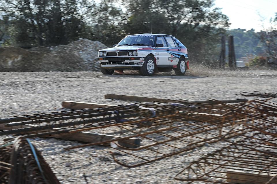 Lancia  Delta Integrale Groupe A 8V 1988  Chassis no. 00425550