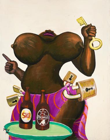 "Monsengwo Kejwamfi ""Moke"" (Democratic Republic of Congo, 1950-2001) Untitled"