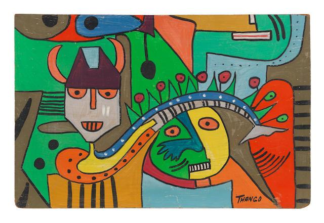 Francois Thango (Congolese, 1936-1981) Untitled