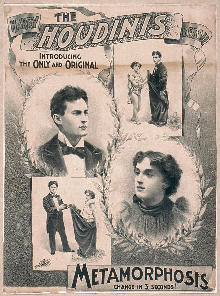Harry Houdini (1874-1926): An original escape prop sack, circa 1915,