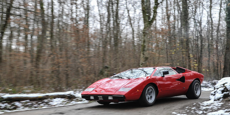 "Lamborghini Countach LP400 Coupé ""Periscopio"" 1974"