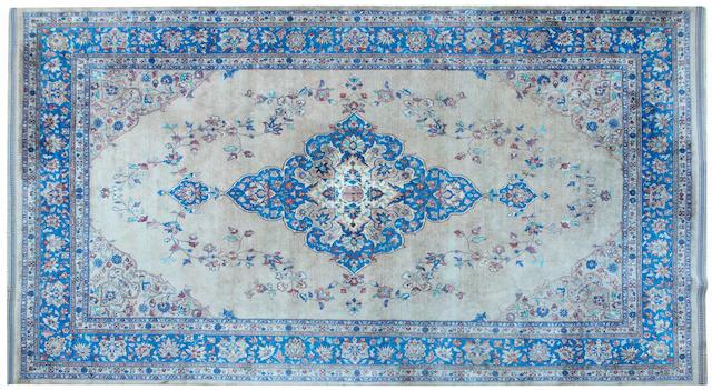 A Persian design carpet