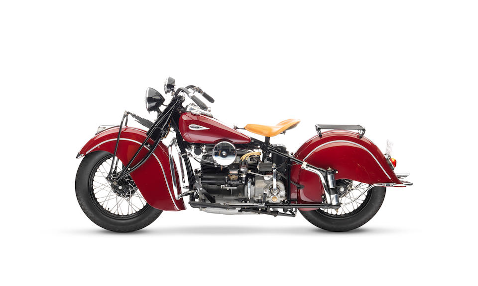 1940 Indian 78ci Four Frame no. 440656 Engine no. DDO656 M