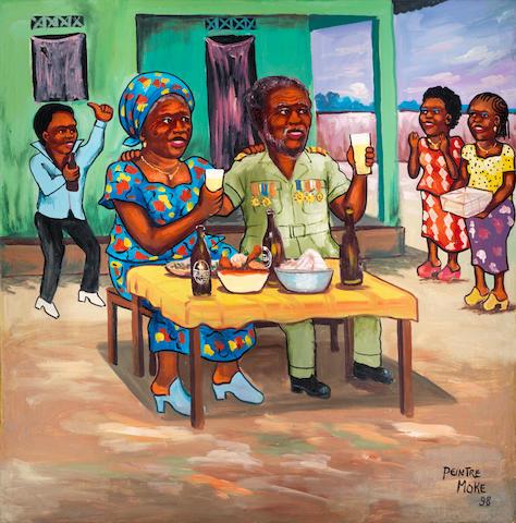 """Monsengwo Kejwamfi """"Moke"""" (Democratic Republic of Congo, 1950-2001) Souvenirs d'un general"""