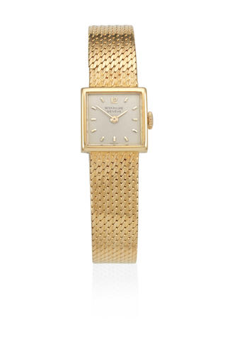 Patek Philippe. A lady's 18K gold manual wind bracelet watch Ref: 3285/21, Circa 1960