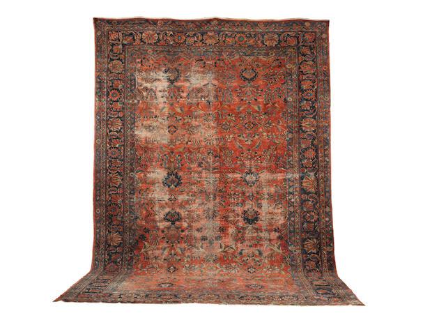 A Sarouk carpet  West Persia, 564cm  x 370cm