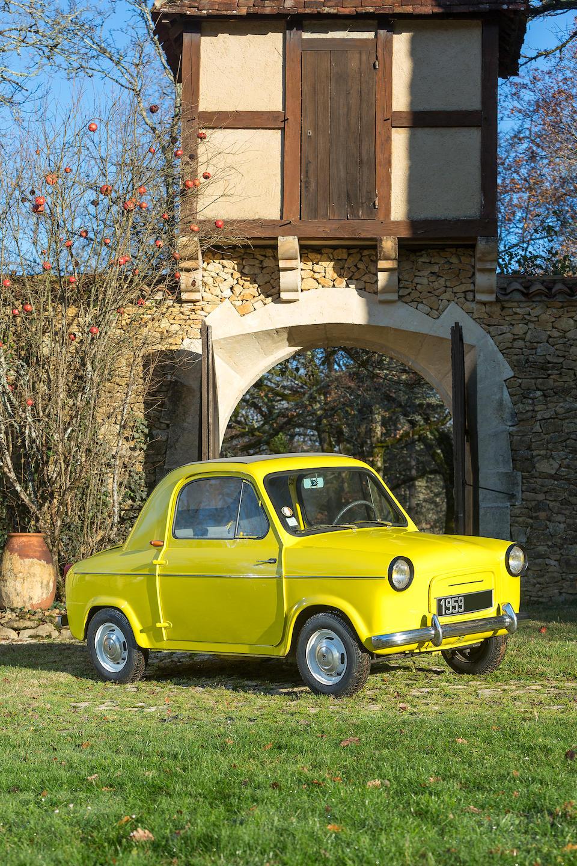 Mini voiture Vespa  400 1959