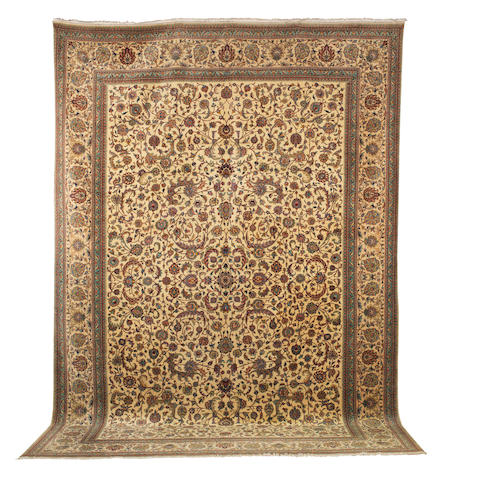 A Tabriz carpet North West Persia, 504cm x 344cm