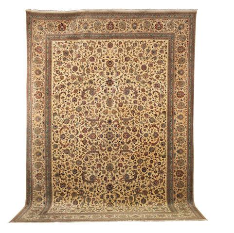 A Tabriz carpet North West Persia, 504cm x 344cm