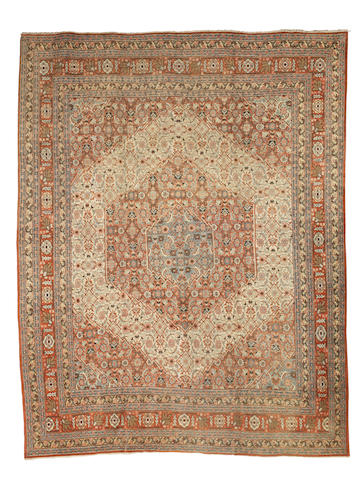 A Tabriz carpet  North West Persia, 369cm x 280xm