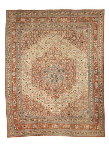 A Tabriz carpet  North West Persia, 369cm x 280xm